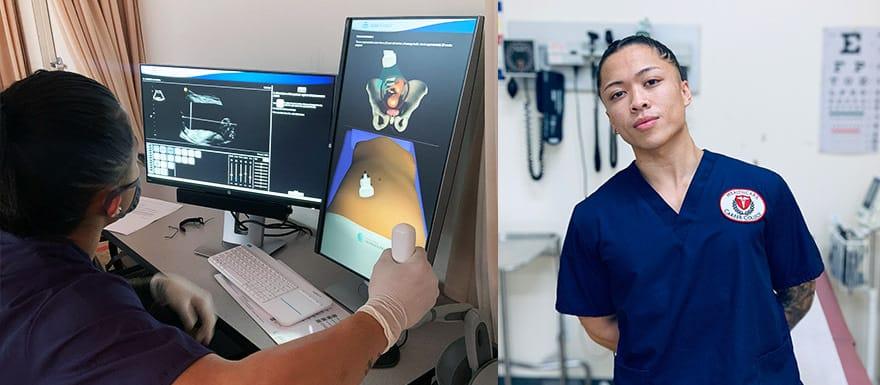 Healthcare Career College student Joshua Salas